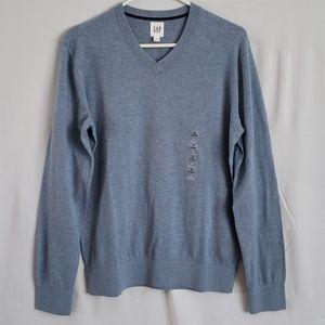 Nwt GAP Men's V-Neck Sweater - Small